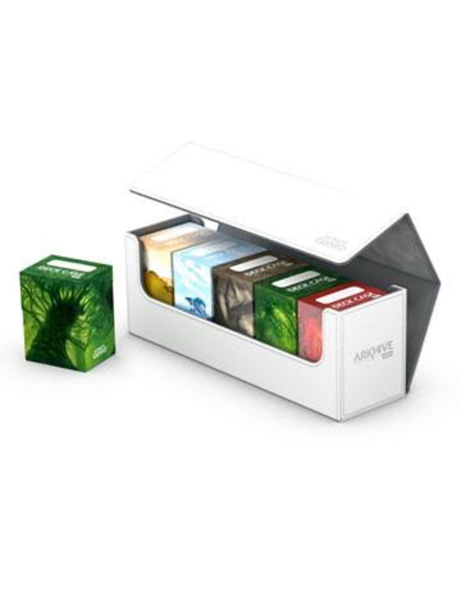 UG - Deckboxen Ultimate Guard Arkhive Flip Case 400+ Standardgrösse XenoSkin Weiss