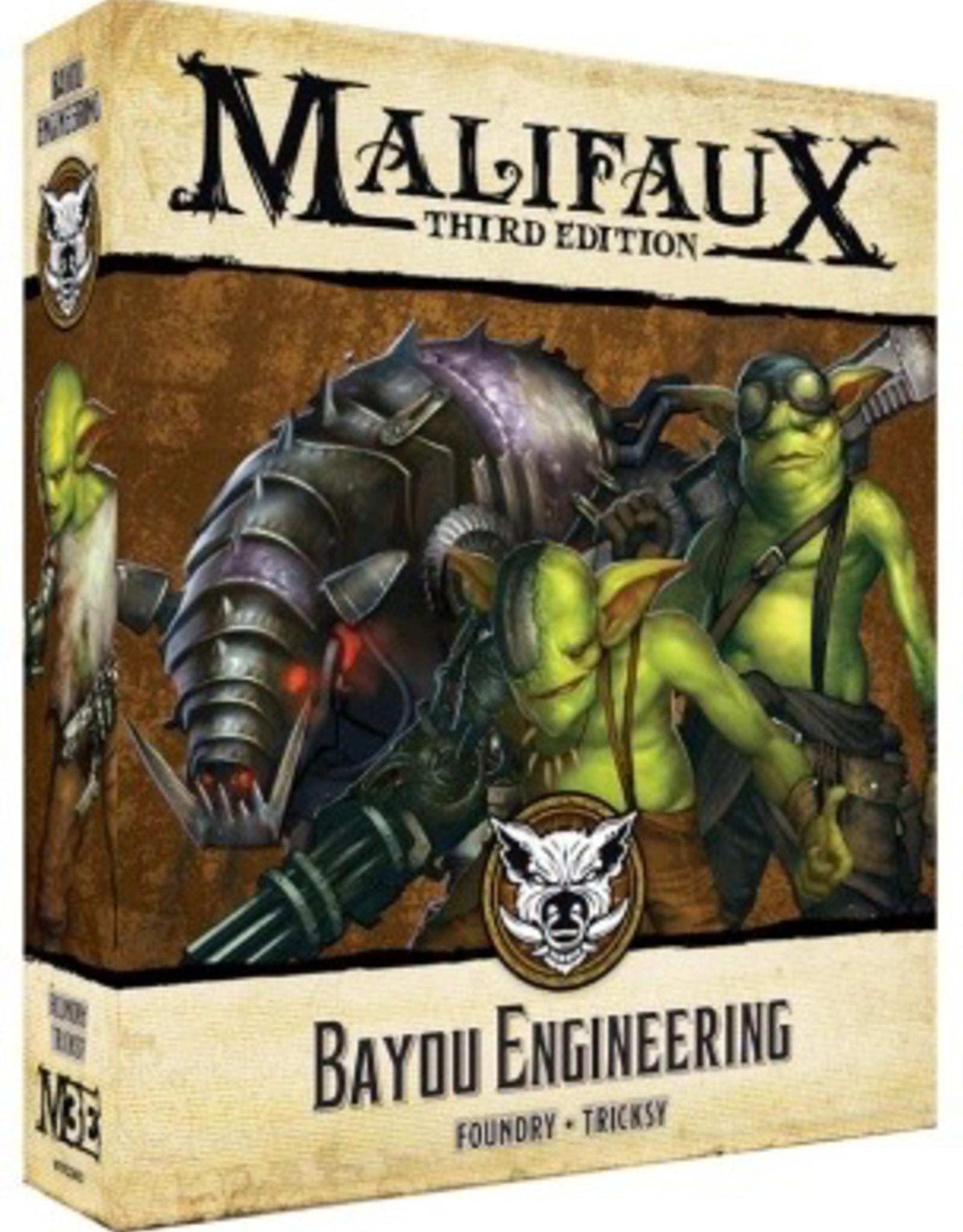 WYR - Malifaux Miniaturen Malifaux 3rd Edition - Bayou Engineering - EN
