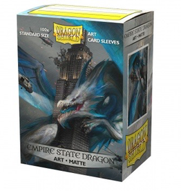 DS - Standard Sleeves Dragon Shield Matte Art Sleeves - Empire State Dragon (100 Sleeves)