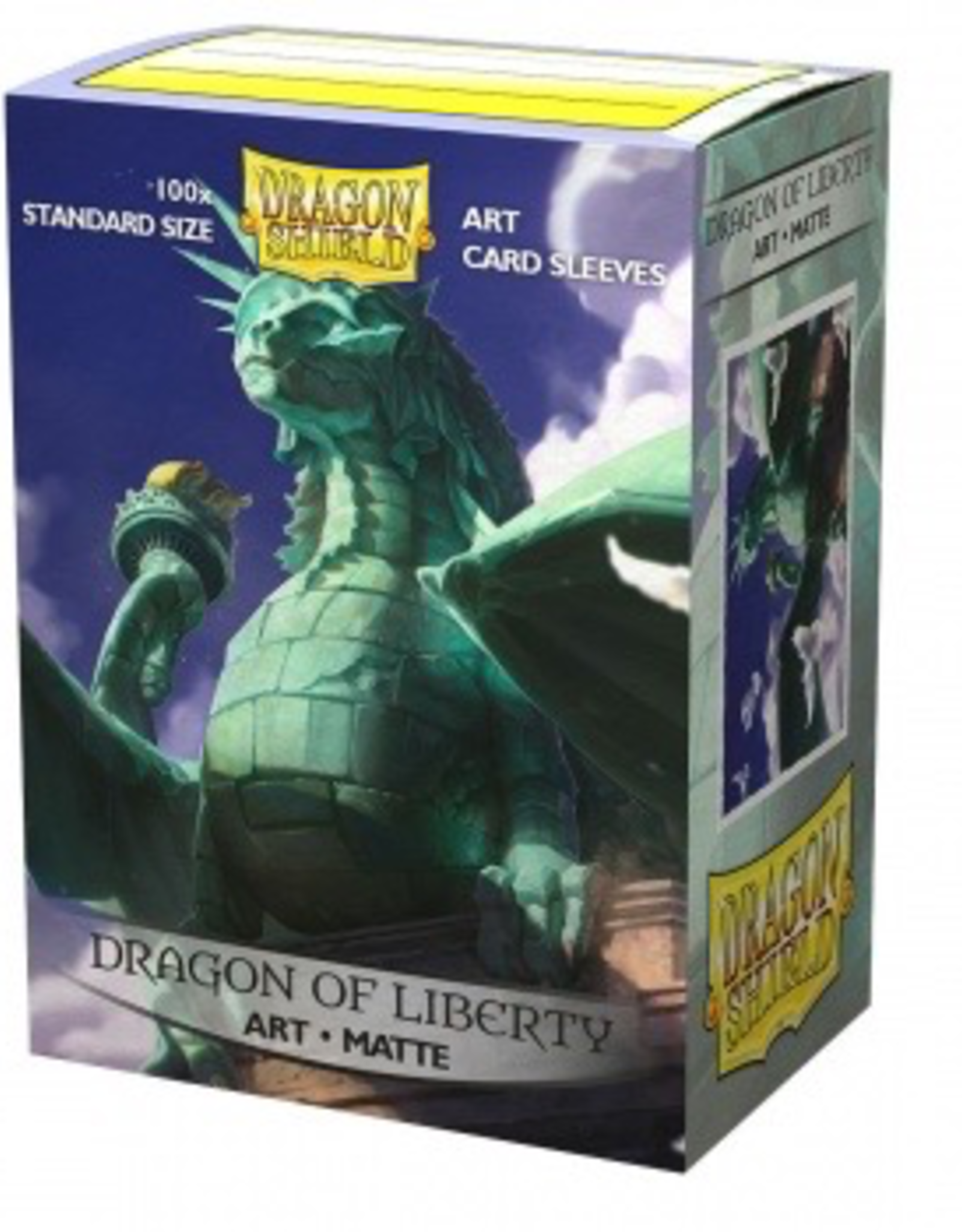DS - Standard Sleeves Dragon Shield Matte Art Sleeves - Dragon of Liberty (100 Sleeves)