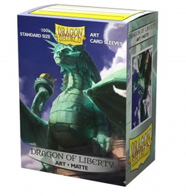 DS - Standard Sleeves Dragon Shield Matte Art Sleeves - Dragon of Liberty (100 Sleeves)