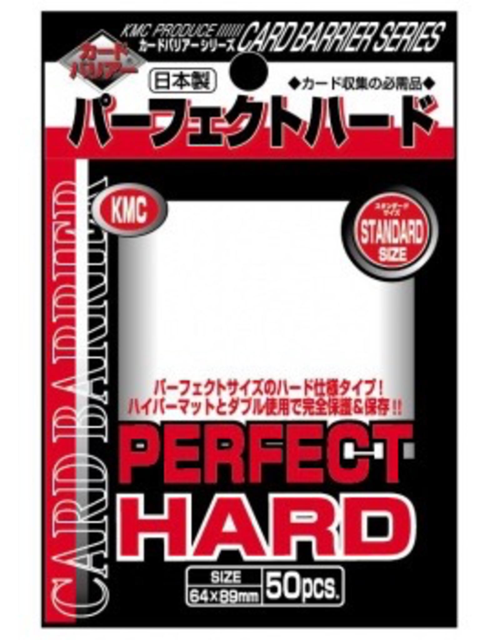 KMC - Standard Sleeves KMC Standard Sleeves - Perfect Hard (50 Sleeves)