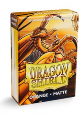 DS - Small Sleeves Dragon Shield Small Sleeves - Japanese Matte Orange (60 Sleeves)