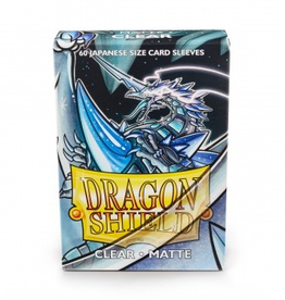 DS - Small Sleeves Dragon Shield Small Sleeves - Japanese Matte Clear (60 Sleeves)
