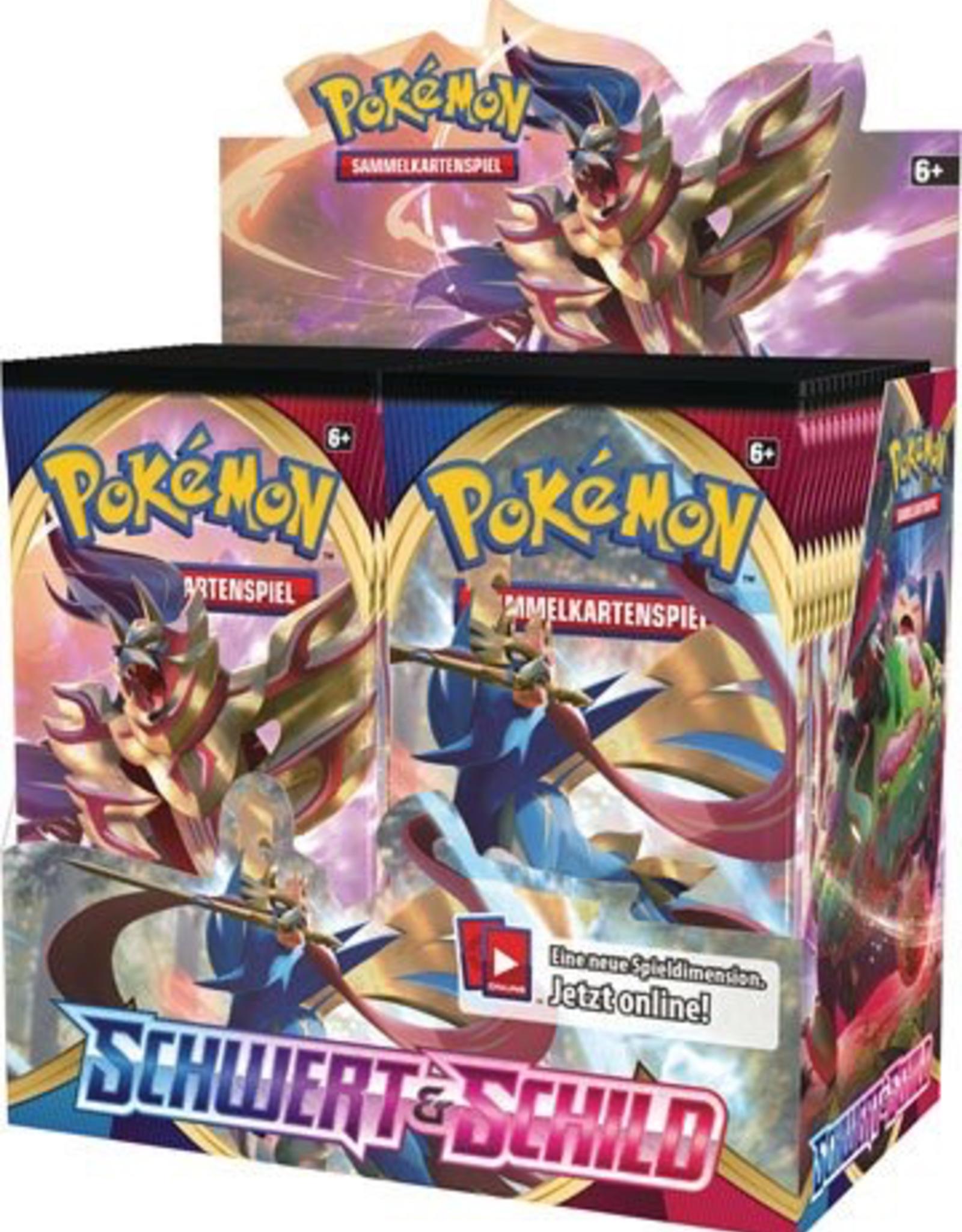 PKM - Schwert & Schild Pokémon Schwert und Schild Booster Display (36) *Deutsche Version*