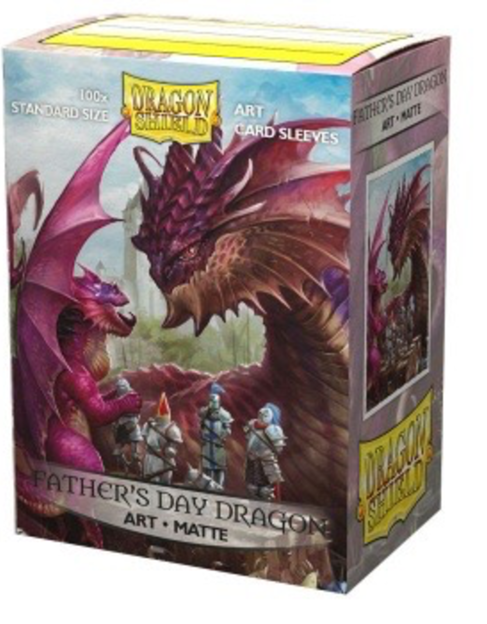 DS - Standard Sleeves Dragon Shield Matte Art Sleeves - Father's Day Dragon 2020 (100 Sleeves)