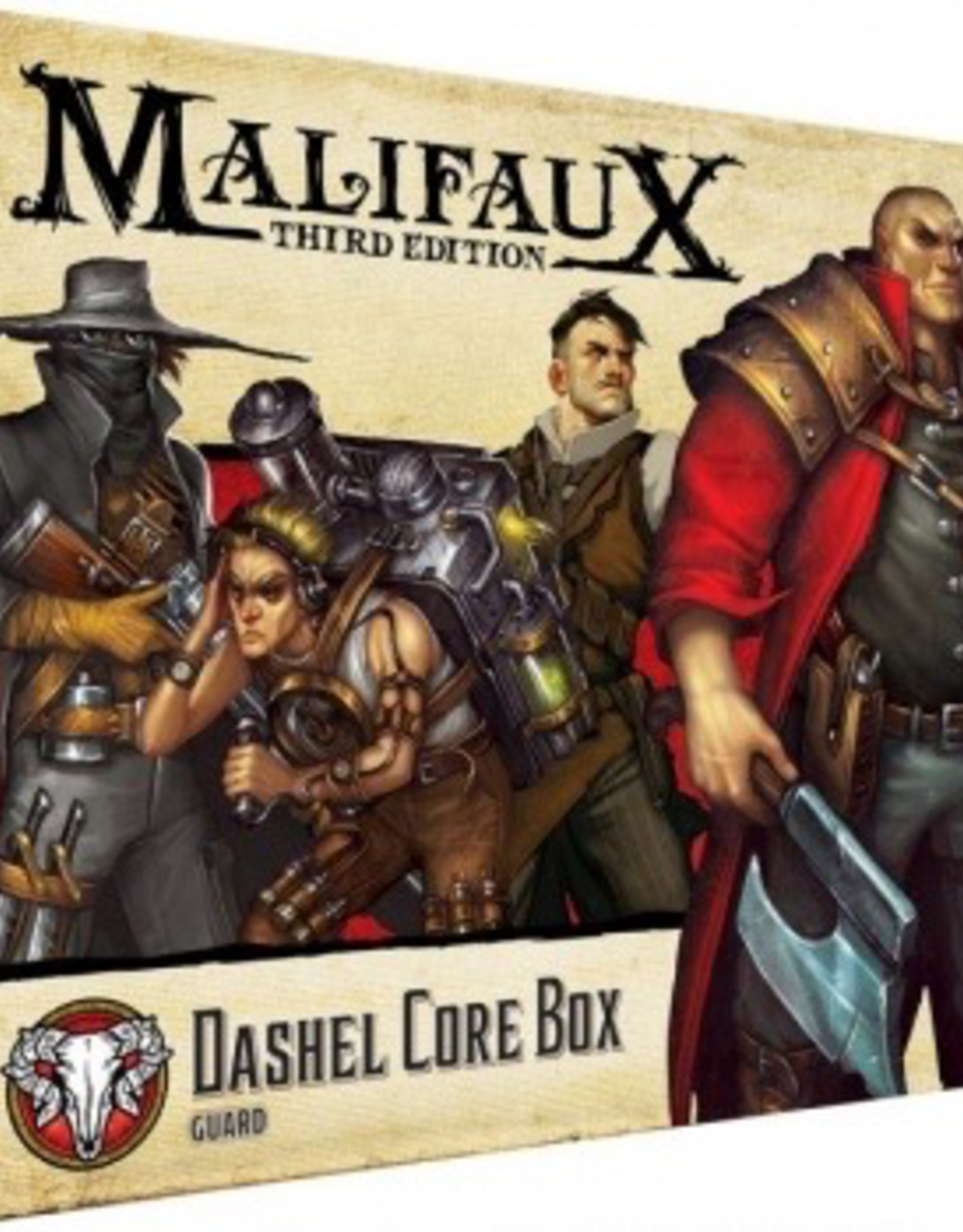 WYR - Malifaux Miniaturen Malifaux 3rd Edition - Dashel Core Box - EN