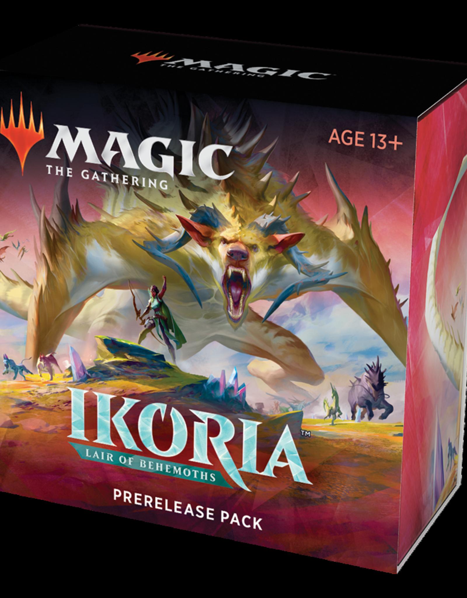 MTG - Ikoria MTG - Ikoria: Lair of Behemoths Prerelease Pack - EN<br /> (+2 Booster)