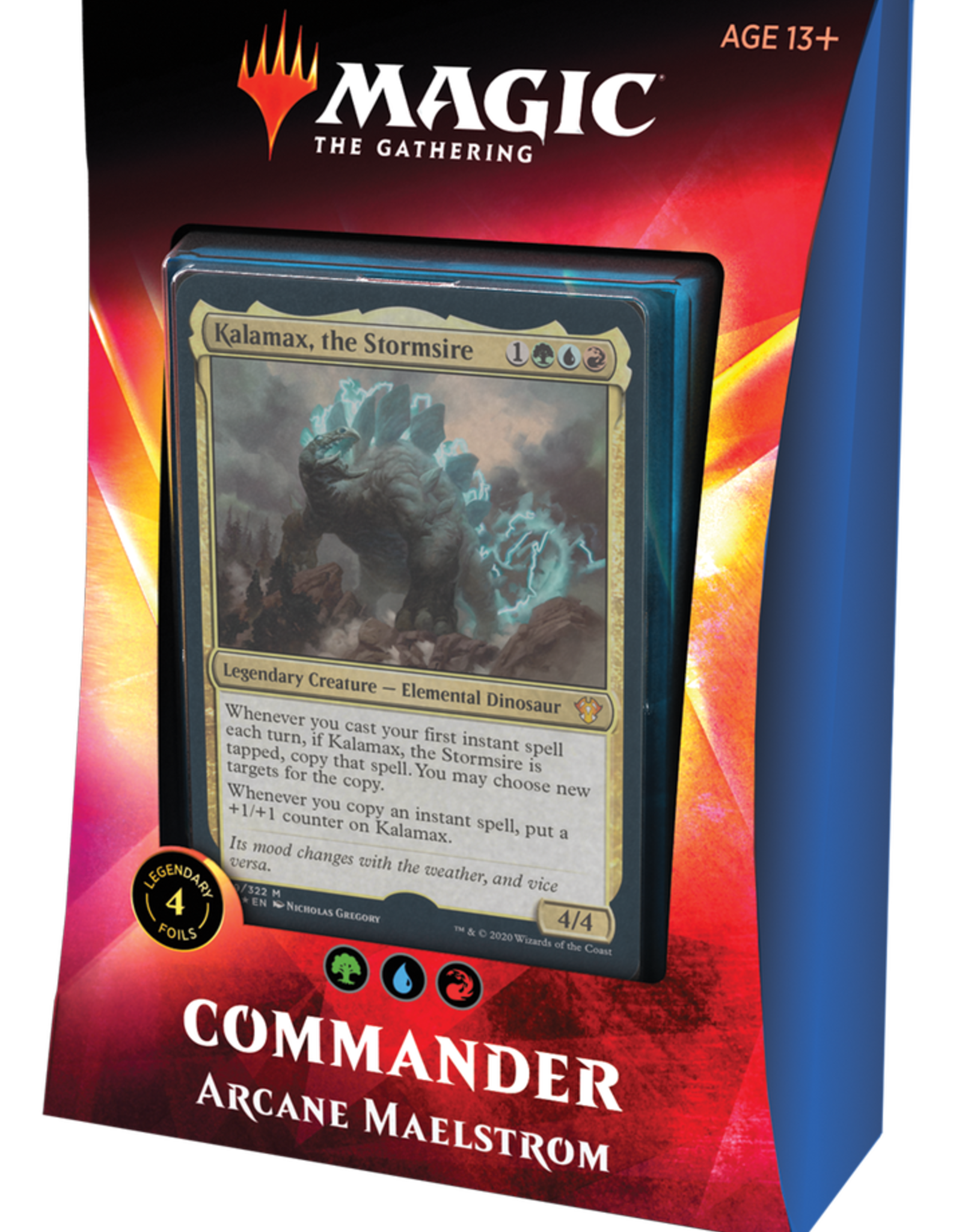 MTG - Ikoria MTG - Ikoria: Lair of Behemoths Commander Deck Arcane Maelstrom - EN