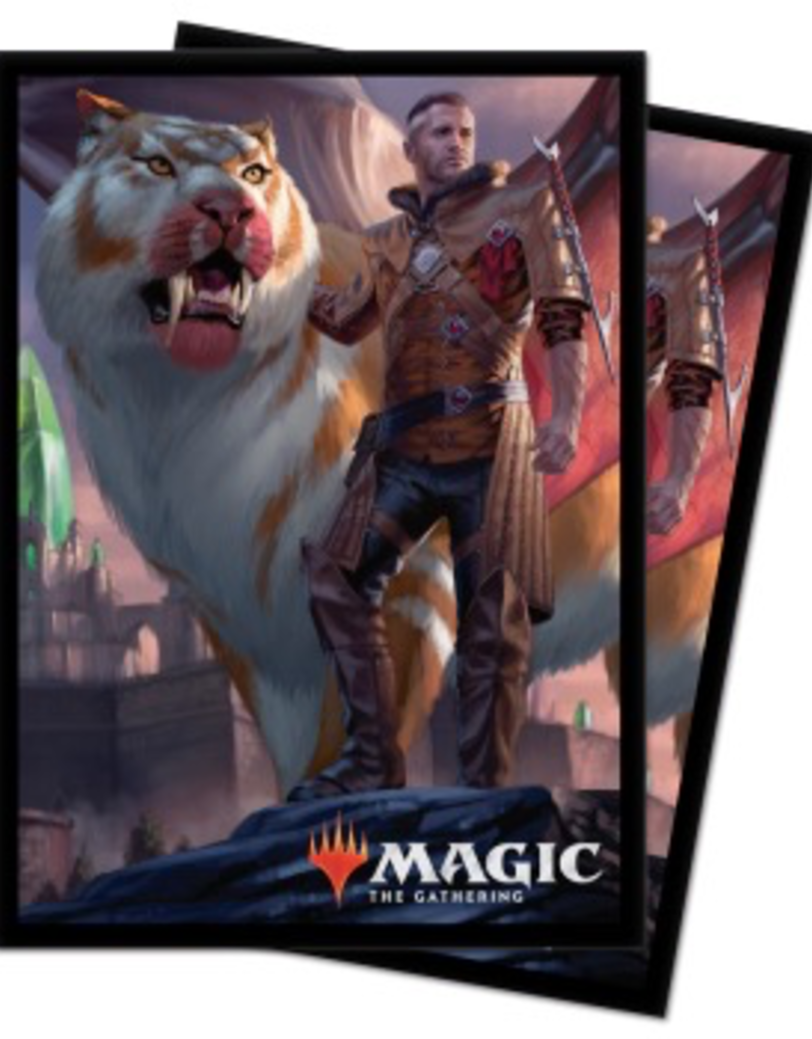 UP - Deck Box Pro 100+ UP - Standard Sleeves Magic: The Gathering - Ikoria Coppercoat Outcast (100 Sleeves)