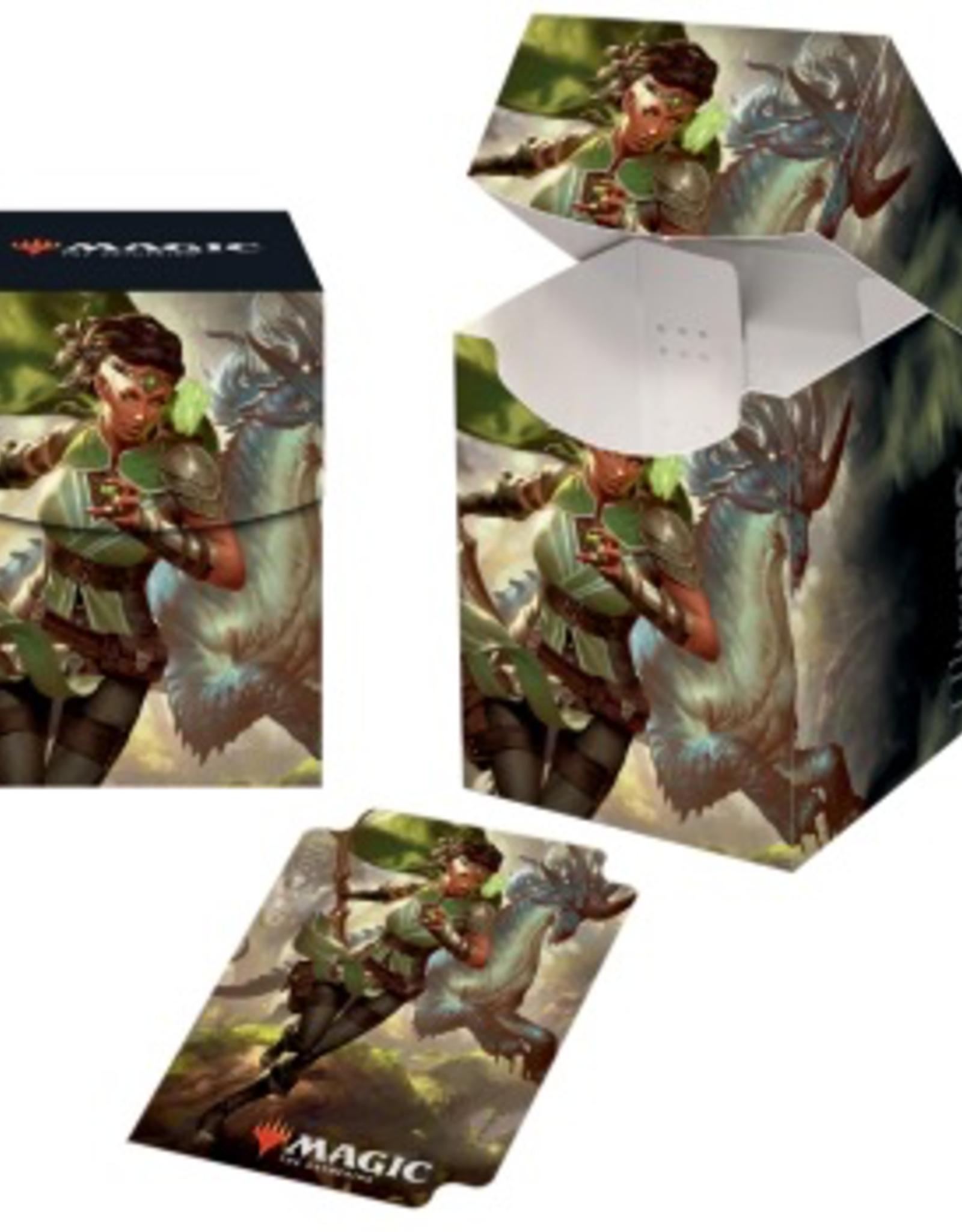 UP - Deck Box Pro 100+ UP - PRO 100 + Deck Box - Magic: The Gathering Ikoria: Vivien, Monsters' Advocate