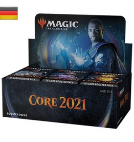 MTG - Core Set MTG - M21 Core Set Draft Booster Display (36 Packs) - DE