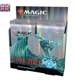 MTG - Core Set MTG - M21 Core Set Collector Booster Display (12 Packs) - EN
