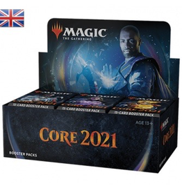 MTG - Core Set MTG - M21 Core Set Draft Booster Display (36 Packs) - EN
