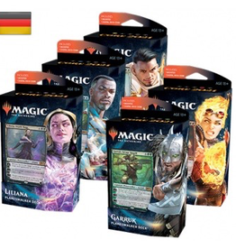 MTG - Core Set MTG - M21 Core Set alle 5 Planeswalker Decks - DE