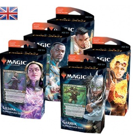 MTG - Core Set MTG - M21 Core Set alle 5 Planeswalker Decks - EN