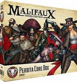 WYR - Malifaux Miniaturen Malifaux 3rd Edition - Perdita Core Box - EN