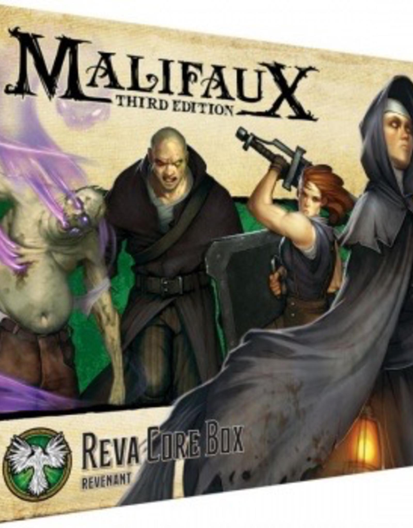 WYR - Malifaux Miniaturen Malifaux 3rd Edition - Reva Core Box - EN