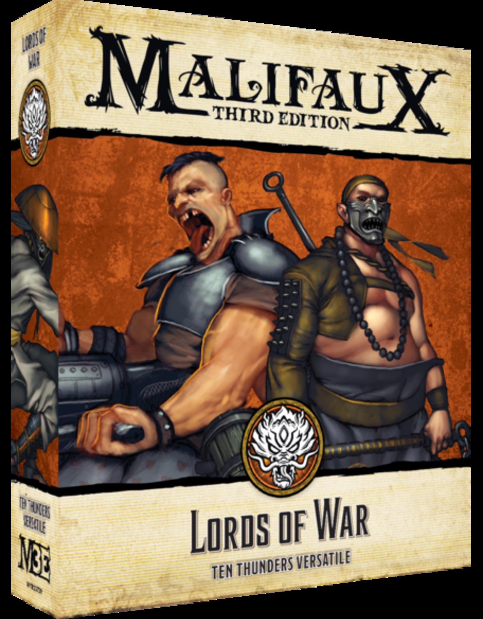 WYR - Malifaux Miniaturen Malifaux 3rd Edition - Lords of War - EN