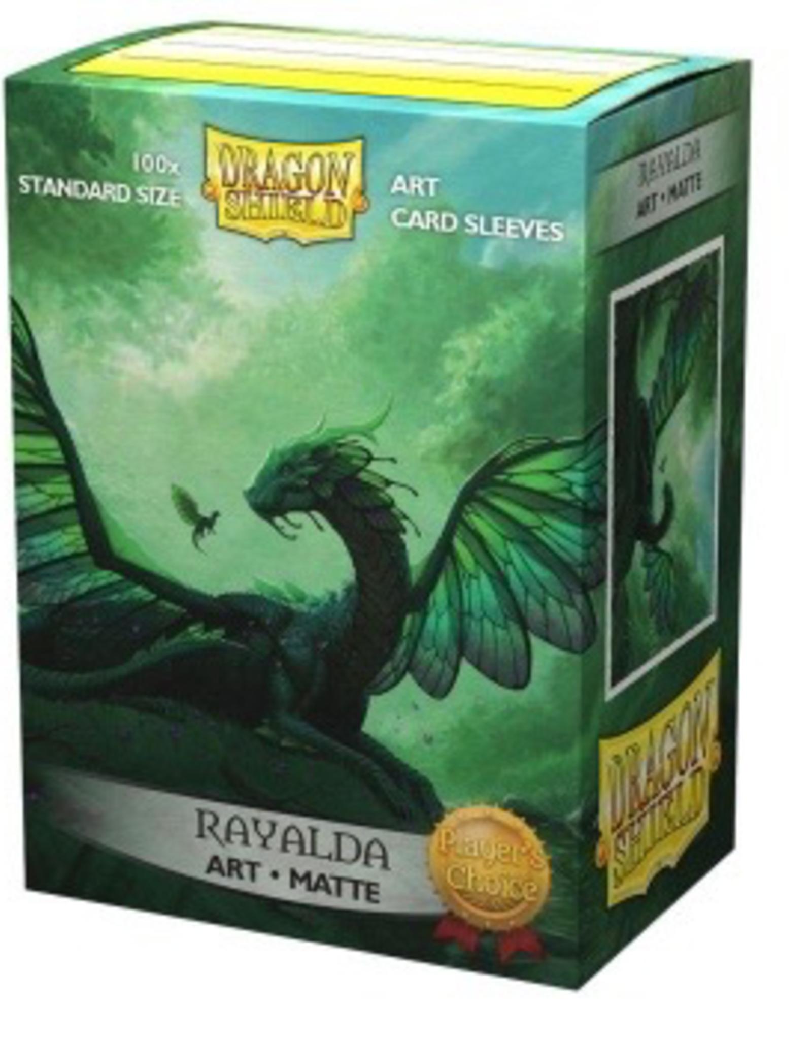DS - Standard Sleeves Dragon Shield Matte Art Sleeves - Rayalda (100 Sleeves)