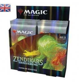 MTG - Zendikar Rising MTG - Zendikar Rising Collector Booster Display (12 Packs) - EN