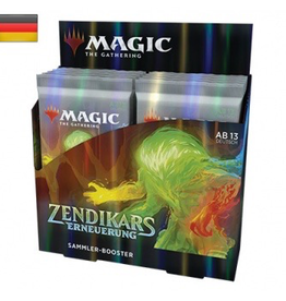 MTG - Zendikar Rising MTG - Zendikar Rising Collector Booster Display (12 Packs) - DE