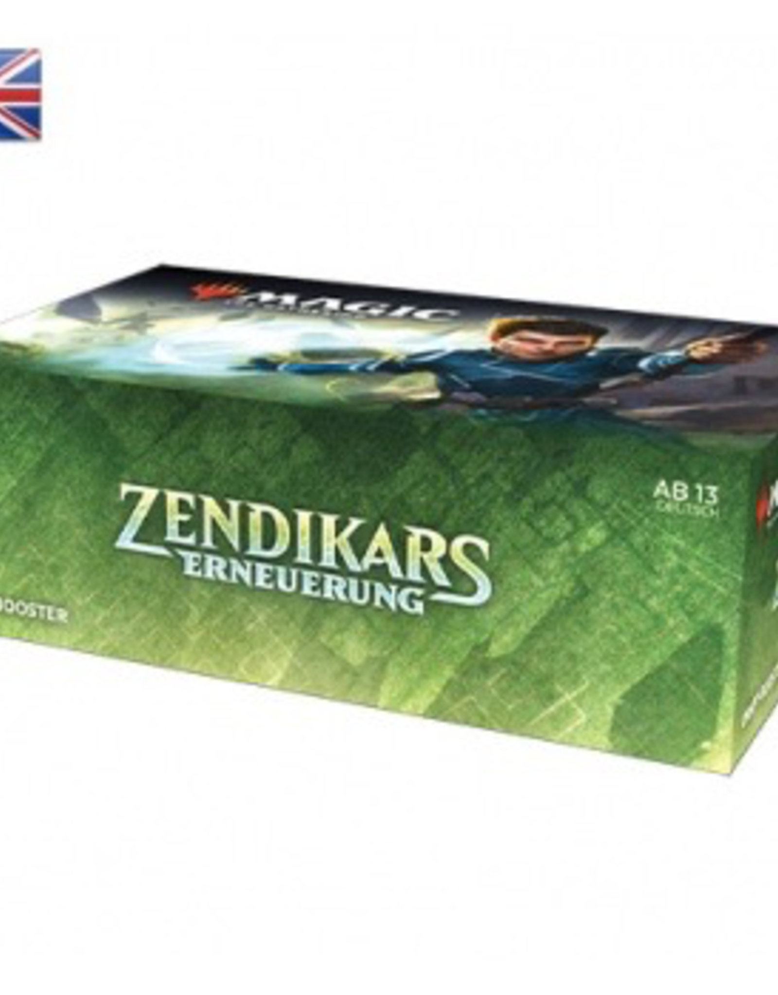 MTG - Zendikar Rising MTG - Zendikar Rising Draft Booster Display (36 Packs) - EN