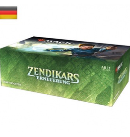 MTG - Zendikar Rising MTG - Zendikar Rising Draft Booster Display (36 Packs) - DE