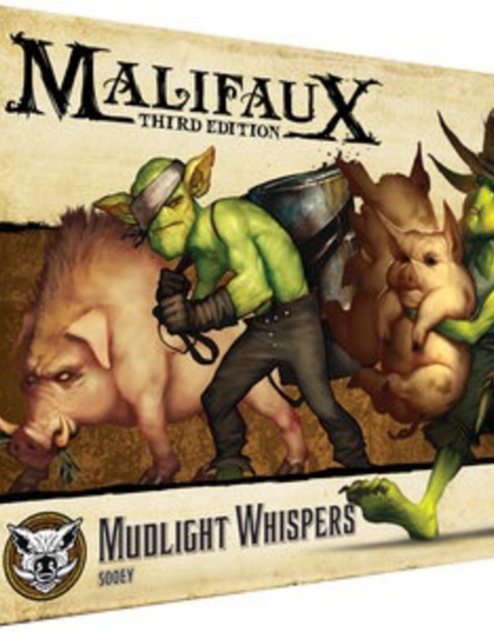 WYR - Malifaux Miniaturen Malifaux 3rd Edition - Mudlight Whisperers - EN