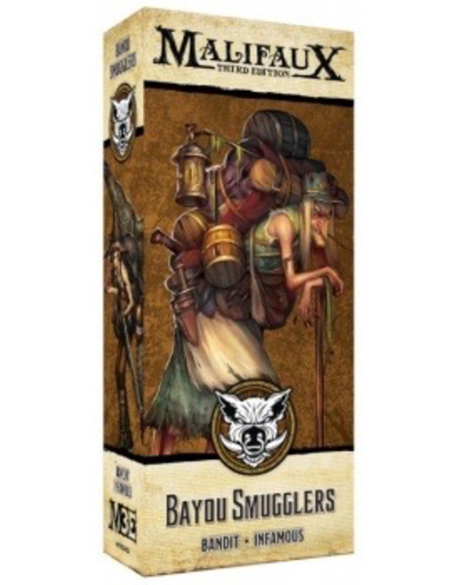 WYR - Malifaux Miniaturen Malifaux 3rd Edition - Bayou Smuggler - EN