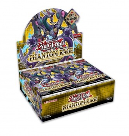 YGO - Hauptset YGO - Phantom Rage - Booster Display (24 Packs) - DE