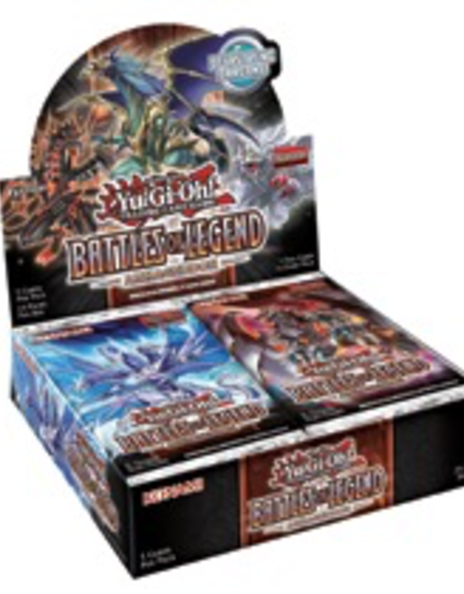YGO - Zwischenset YGO - Battles of Legend: Armageddon - Booster Display (24 Packs) - DE