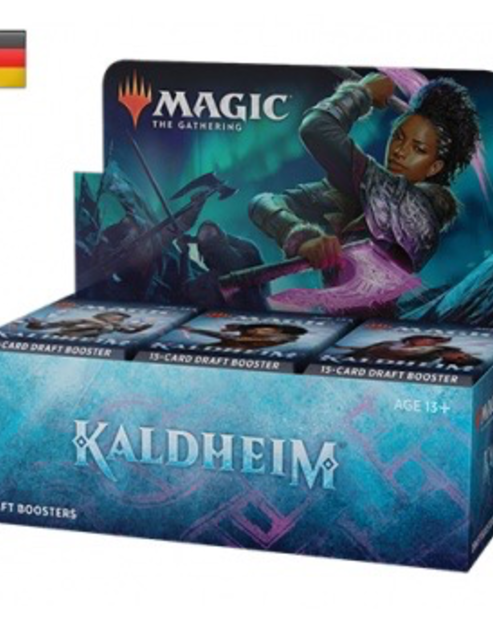 MTG - Kaldheim MTG - Kaldheim Draft Booster Display (36 Packs) - DE