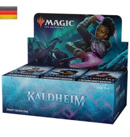 MTG - Kaldheim MTG - Kaldheim Draft Booster Display (36 Packs) - DE