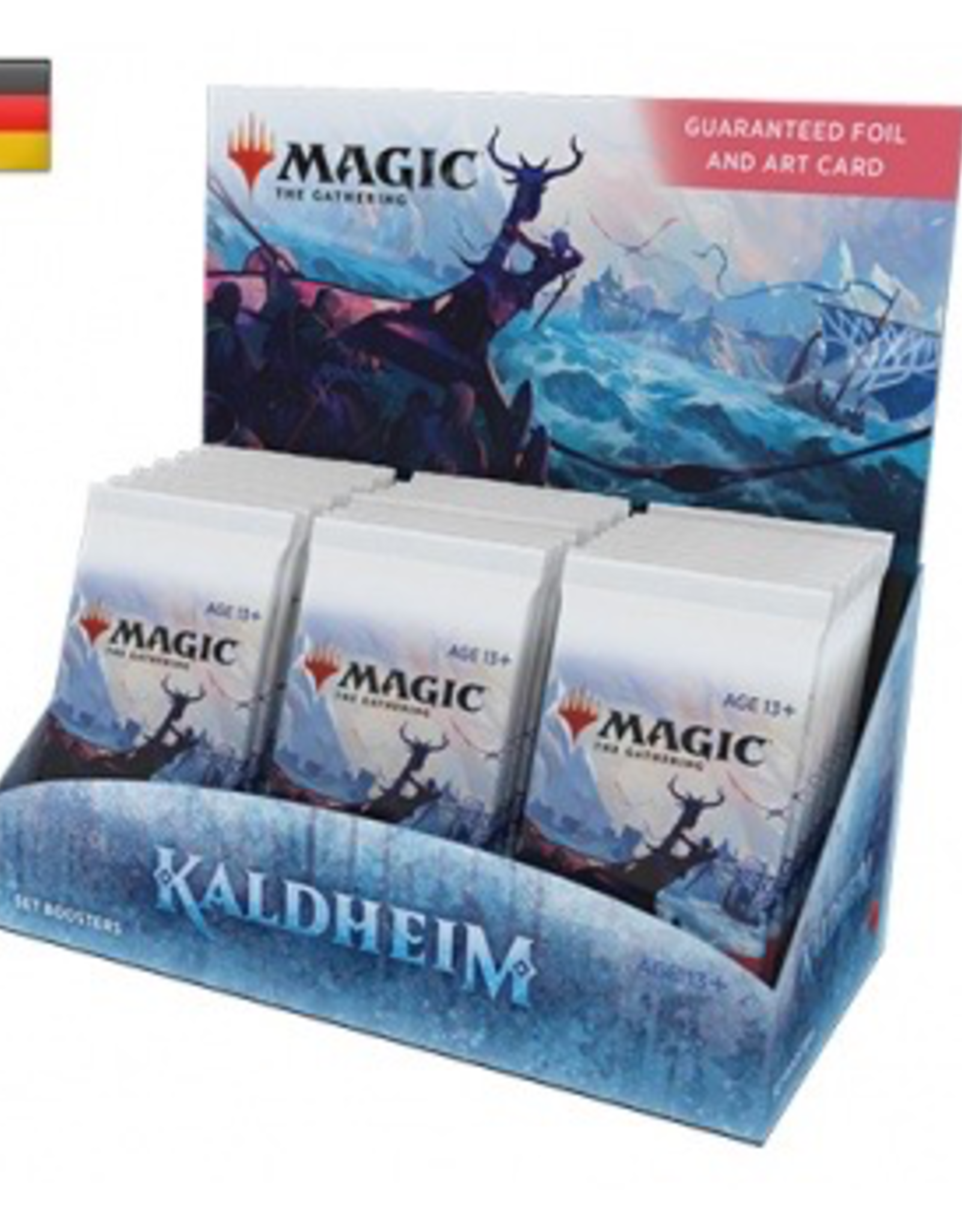 MTG - Kaldheim MTG - Kaldheim Set Booster Display (30 Packs) - DE