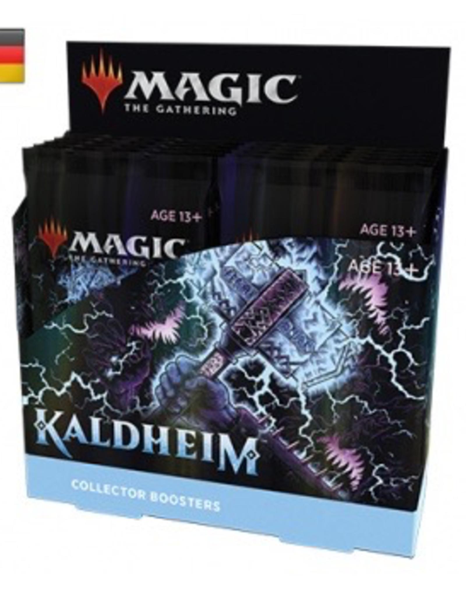 MTG - Kaldheim MTG - Kaldheim Collector Booster Display (12 Packs) - DE