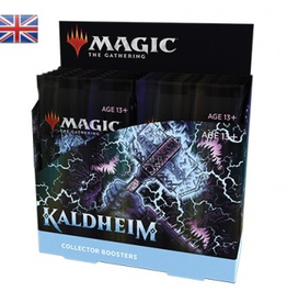 MTG - Kaldheim MTG - Kaldheim Collector Booster Display (12 Packs) - EN