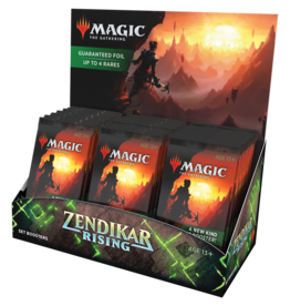 MTG - Zendikar Rising MTG - Zendikar Rising Set Booster Display (30 Packs) - EN