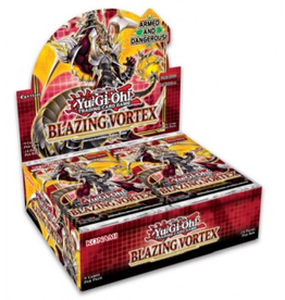 YGO - Hauptset YGO - Blazing Vortex - Booster Display (24 Packs) - DE