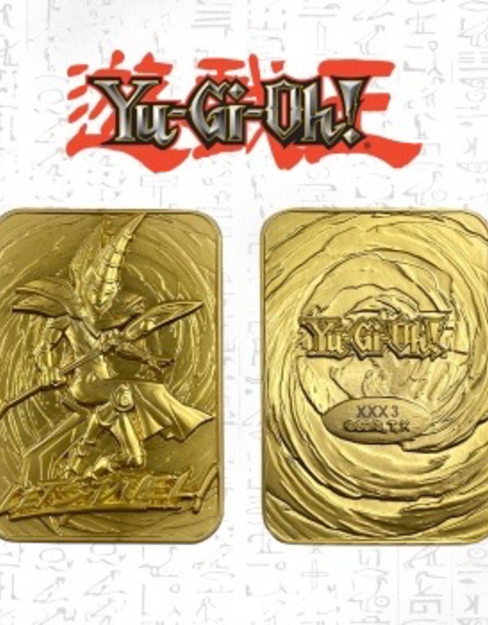 YGO - Zubehör Yu-Gi-Oh! Limited Edition Gold Card Collectibles - Dark Magician