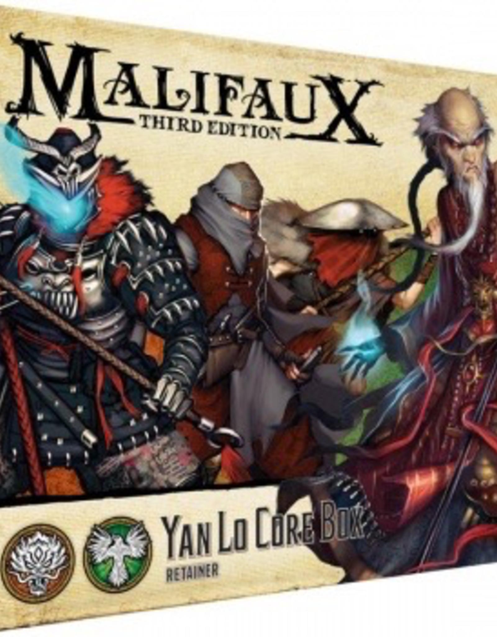 WYR - Malifaux Miniaturen Malifaux 3rd Edition - Yan Lo Core Box - EN