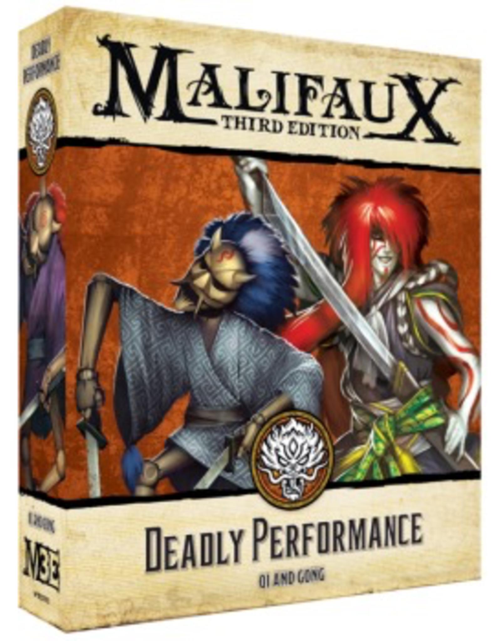 WYR - Malifaux Miniaturen Malifaux 3rd Edition - Deadly Performance - EN