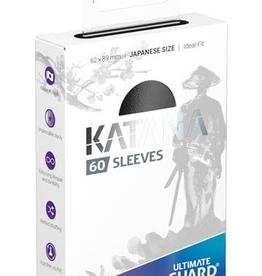 UG - Small Sleeves Ultimate Guard Katana Sleeves Japanische Größe<br /> Schwarz (60)