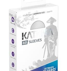 UG - Small Sleeves Ultimate Guard Katana Sleeves Japanische Größe<br /> Weiß (60)