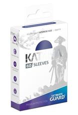 UG - Small Sleeves Ultimate Guard Katana Sleeves Japanische Größe<br /> Blau (60)