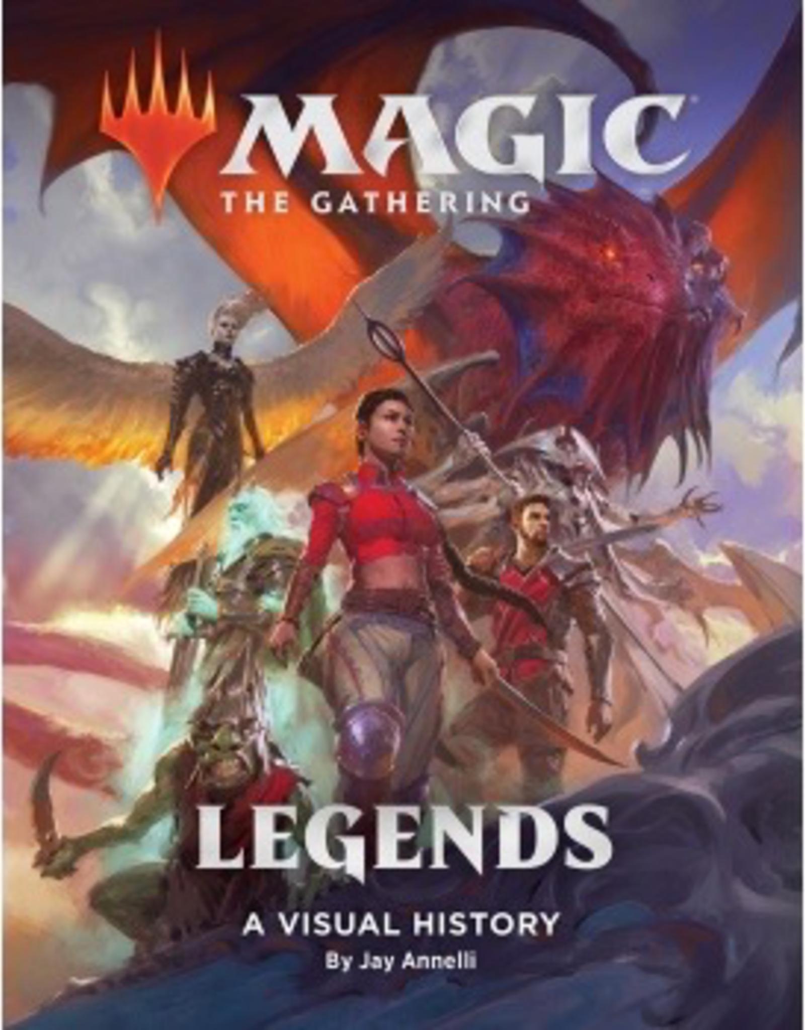 MTG - Spezial Set Magic: The Gathering: Legends: A Visual History - EN