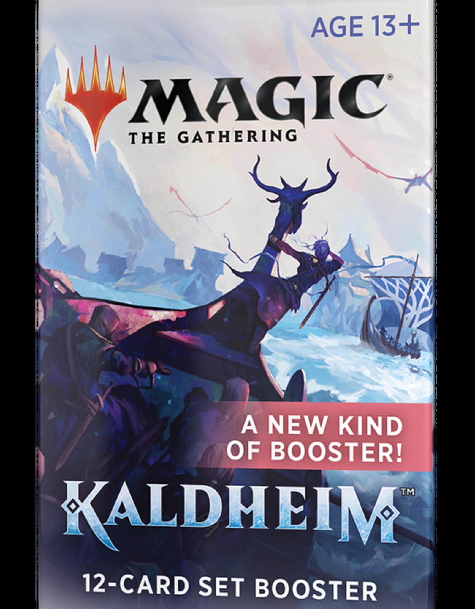 MTG - Kaldheim MTG - Kaldheim Set Booster - EN