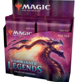 MTG - Commander MTG - Commander Legends Collector Booster Display (12 Packs) - DE