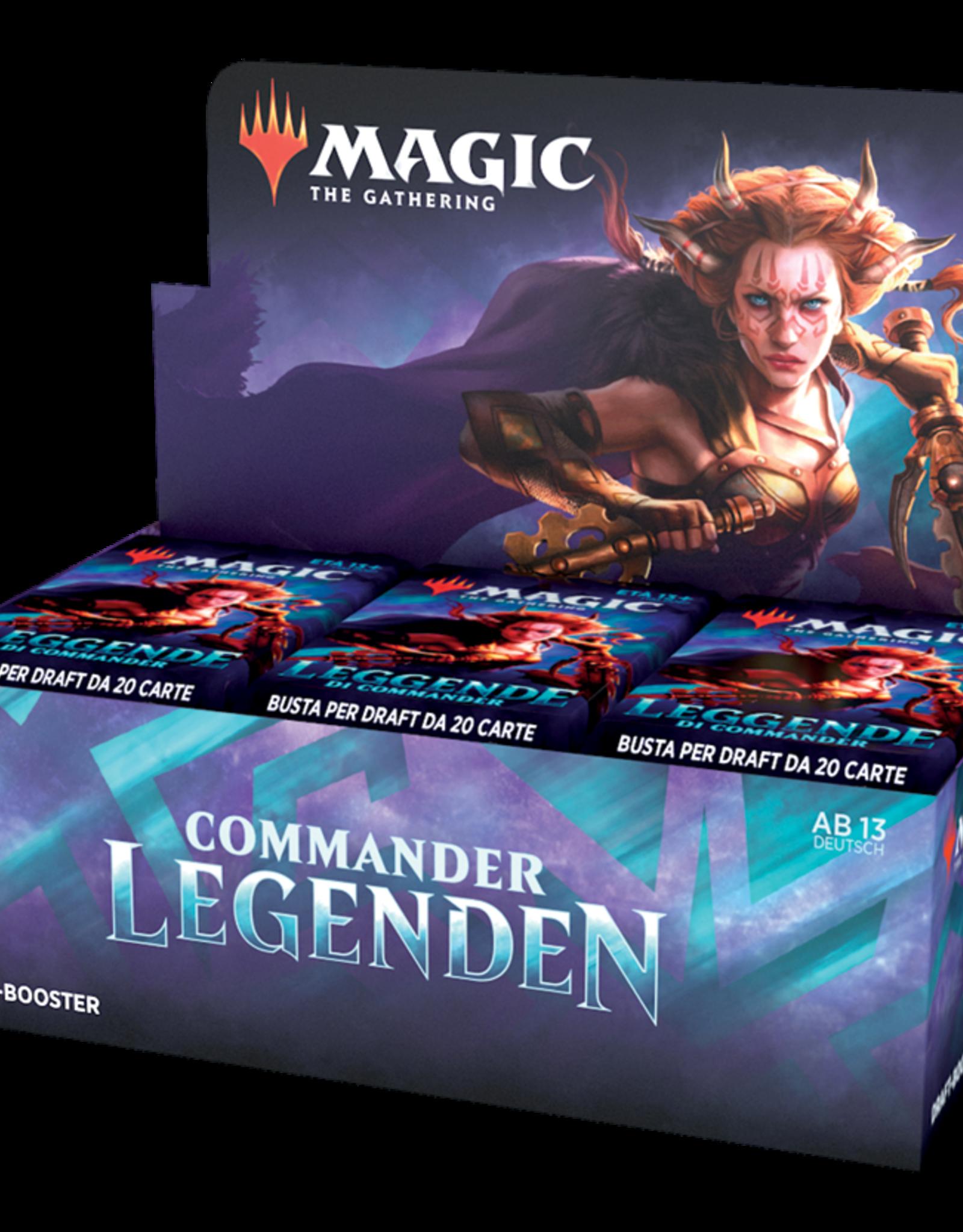 MTG - Commander MTG - Commander Legends Draft Booster Display (24 Packs) - DE