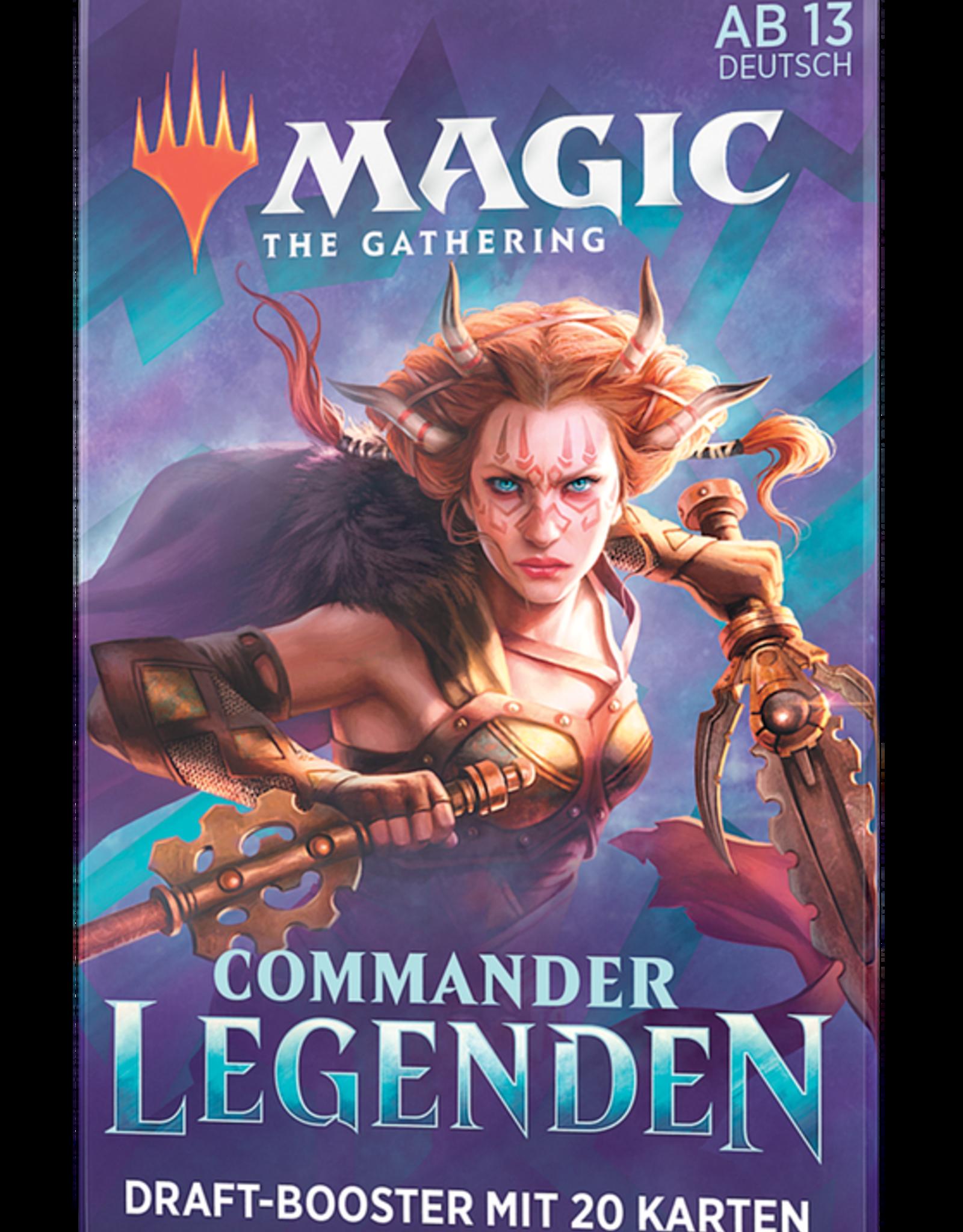 MTG - Commander MTG - Commander Legends Draft Booster - DE